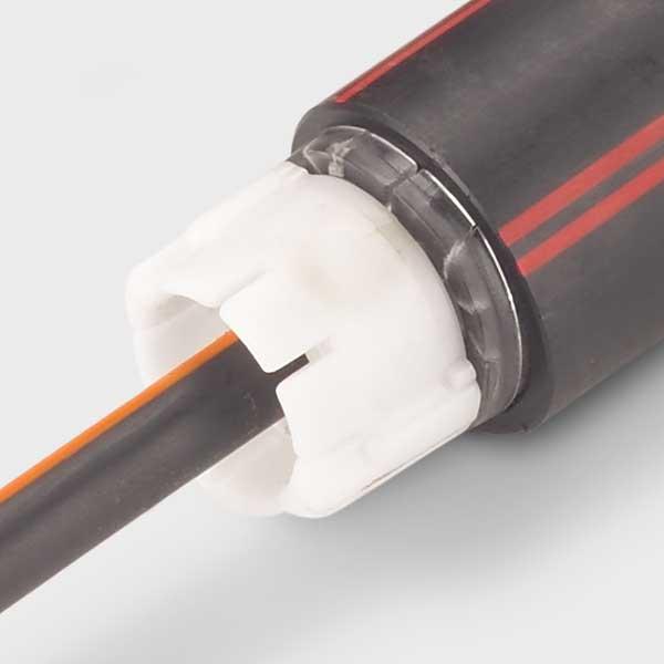Dichtstopfen für glasfaserkabel