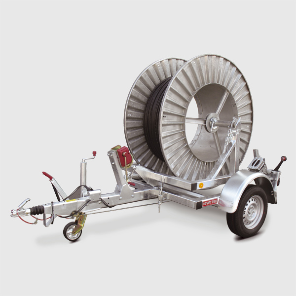 Cable drum trailers 1-2 t