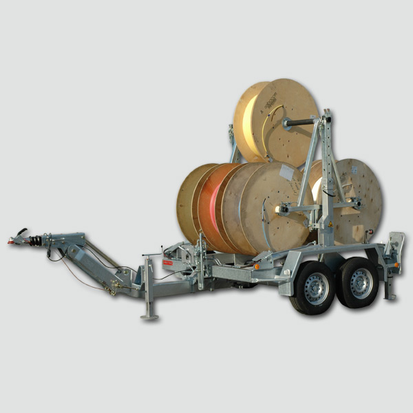 Cable drum trailers 2-3 t