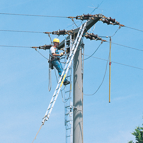 Pole Overhead Line Structures : Pole ladders and personal safety equipment